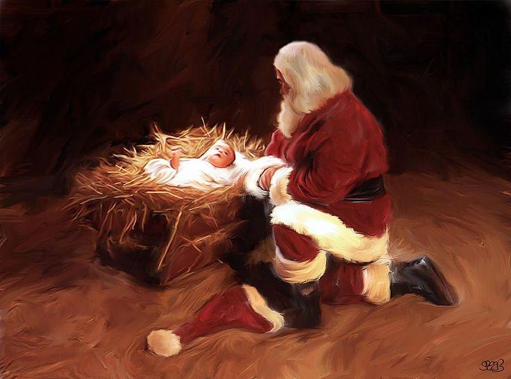 f8343f4c0f0886efdc05d636a0e4b18c--christmas-pics-santa-christmas
