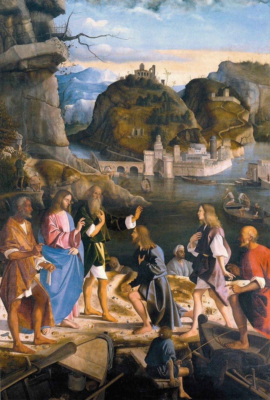 Isus - Poziv učenika (Basaiti)