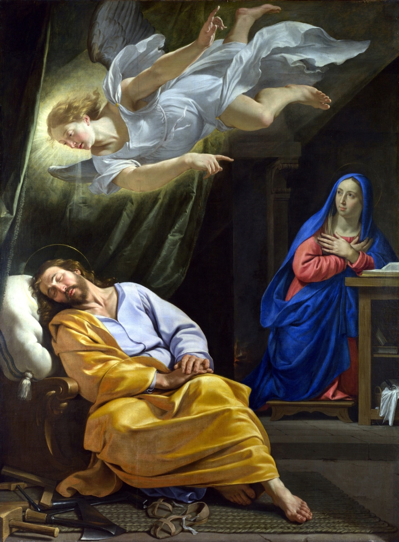 Sv. Josip (San svetoga Josipa - Philippe de Champaigne)